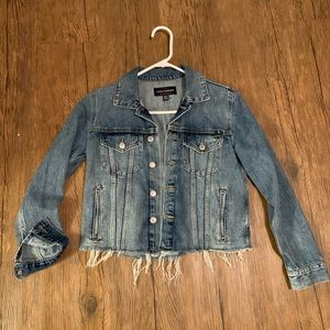 Lucky Brand Cropped Jean Jacket